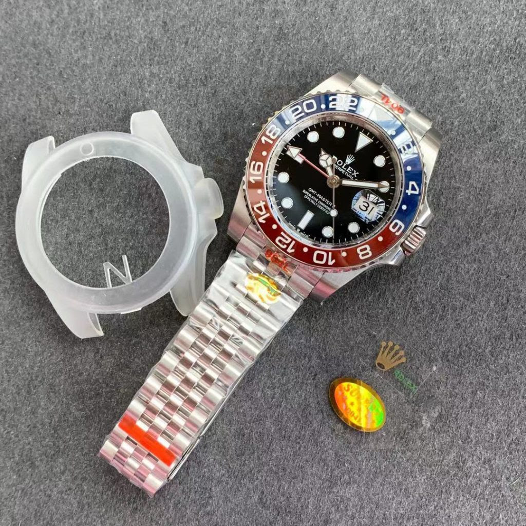 Noob GMT-Master II Blue Red