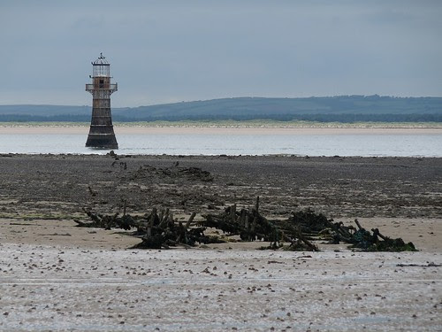 11344 - Remains at Whiteford Point Lighthouse