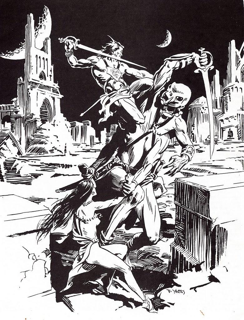 Thomas Yeates - John Carter Of Mars, Illustration 3