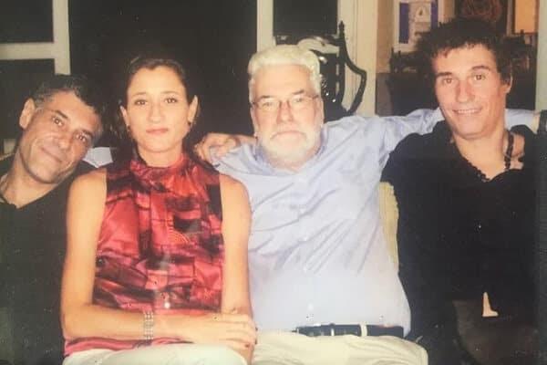 Dinho posta foto e lamenta falecimento do pai, o embaixador Affonso Celso de Ouro Preto