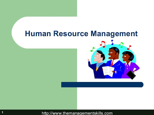 Basic of Human Resource Management