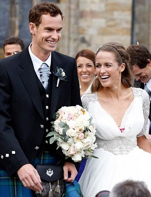 Andy Murray and Kim Sears announce they are expecting their first baby
