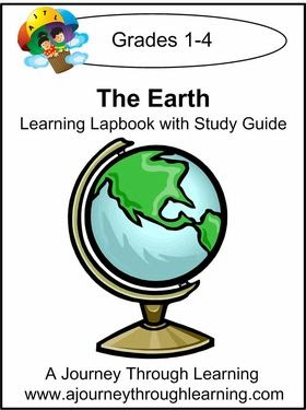 Cover image of The Earth Learning Lapbook with Study Guide