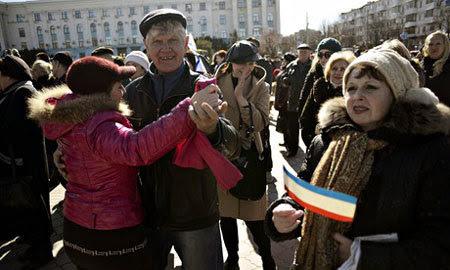 Nga, Crưm, trưng cầu dân ý, châu Âu, Mỹ