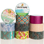Duck and Scotch Brand Duct Tape Set (10 Random Rolls) Colored Duct Tape Multi Pack, Duct Tape Bulk Lot For Duct Tape Designs, DIY Crafts, Crafts