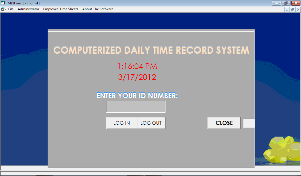 Daily Time Record Php