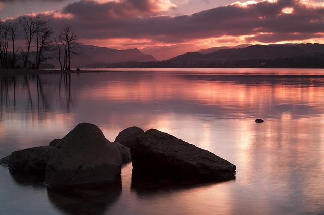 Ullswater on the Rocks