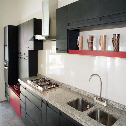 20 Dapur Modern Dengan Meja Marmer Dan Granit
