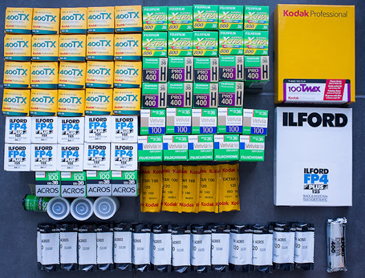 Show us your film: The stash is strong in this one - Japan Camera Hunter