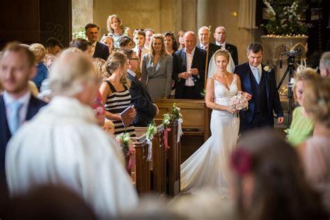 Traditional Church Wedding Ceremony in Goodnestone