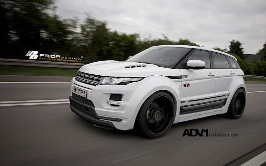 PRIOR Range Rover EVOQUE PD650 WIDEBODY
