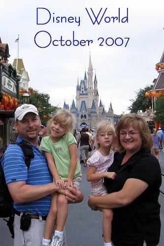 Disney World 2007