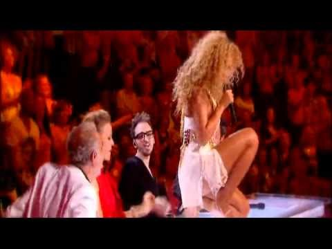 sgualdrine da talent: beyoncé vs. christina aguilera