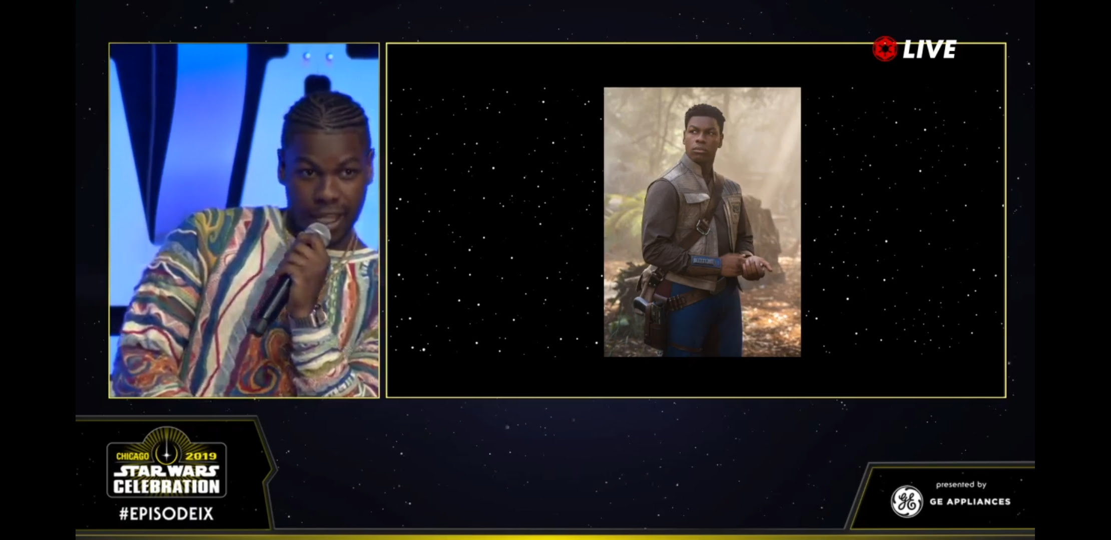 The Rise of Skywalker: Favorite SWCC Panel Moments | Anakin and His Angel