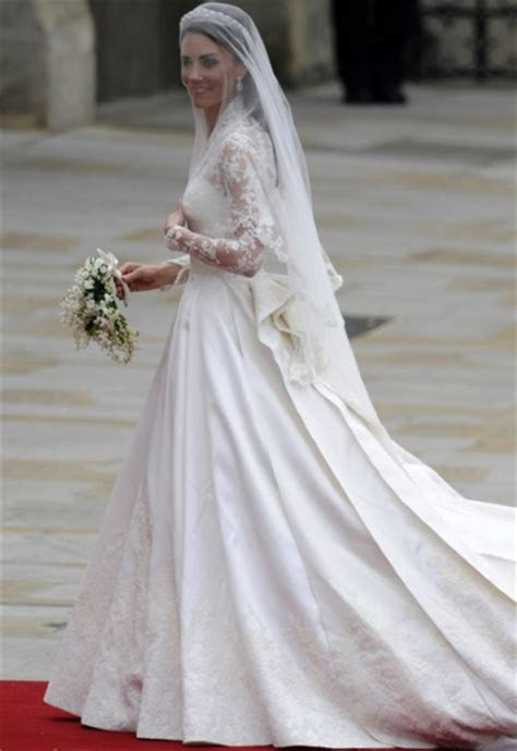 Kate Middleton wedding dress is Sarah Burton for Alexander