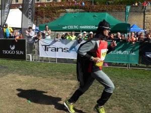 Einer der schnelleren Läufer. Kein Wunder, mit Superkräften