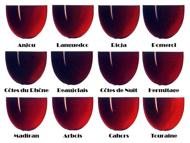 Fifty Shades Of Bordeaux Wines Up