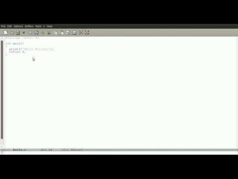 C Programming Tutorial - 1 - Hello World