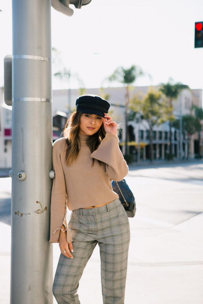 how to style plaid pants for women 2020 ⋆ fashiontrendwalk