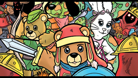 Out Of The Attic: A Teddy Bear Adventure Graphic Novel