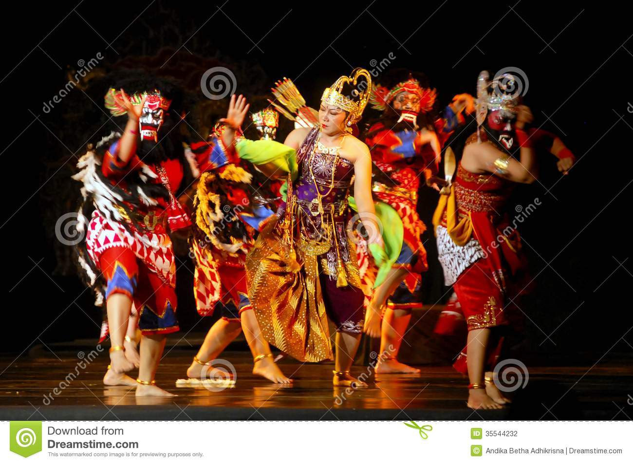 INDONESIA JAVA WAYANG WONG THEATRE Editorial Photography  Image: 35544232