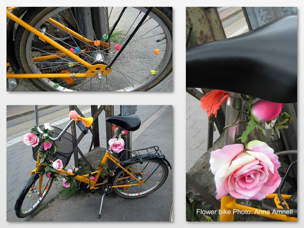 Flower bike in Helsinki
