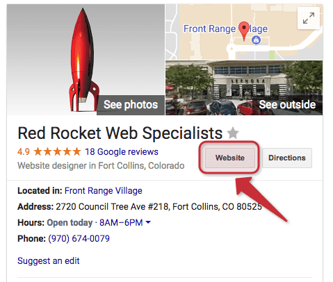 Red Rocket Web Specialists