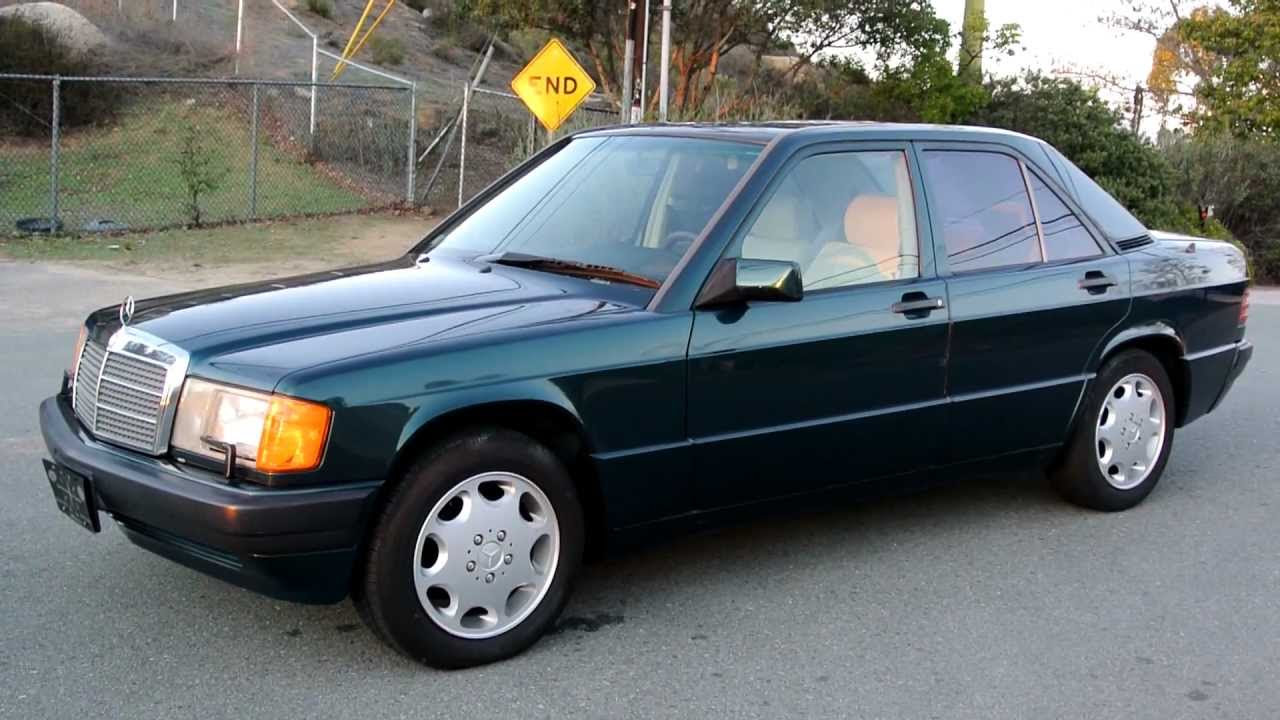 1993 Mercedes Benz 190E Limited Edition LE One of 700 Made ...