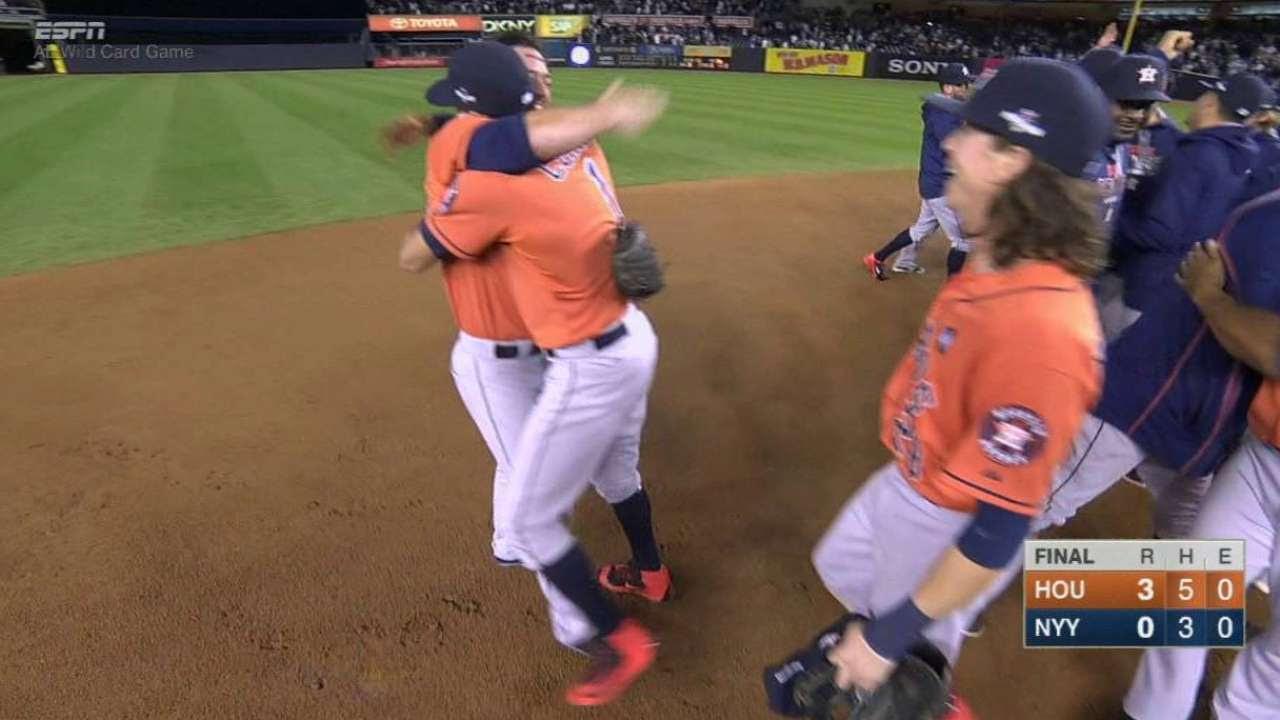 Joya de Dallas Keuchel vs. Yankees guió a los Astros a la SDLA