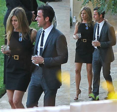 No black for a wedding guest? Jennifer Aniston is