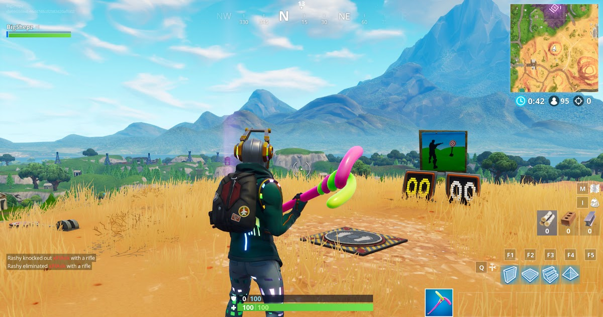 All Shooting Gallery Locations In Fortnite Fortnite Cheat A Fort