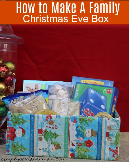 How To Make A Family Christmas Eve Box+KC Steak Giveaway - Simply Southern Mom