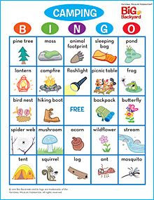 1000+ ideas about Camping Bingo on Pinterest   Bingo cards ...