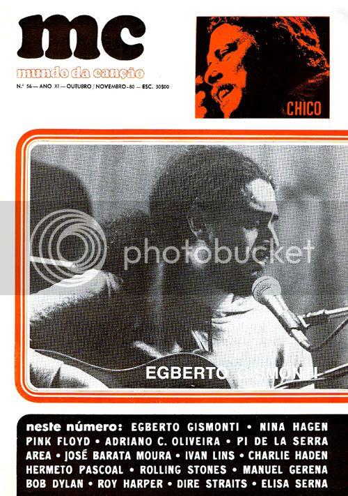 Capa do número 56, datado de Novembro de 1980