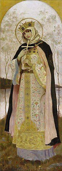 Sainte Olga. Princesse de Kiev, mère de Sviatoslav († 969)