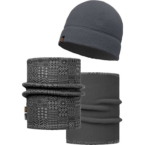 404acd3b4c8 Buff Denver Grey Polar Neckwarmer and Polar Hat Set - Google Express