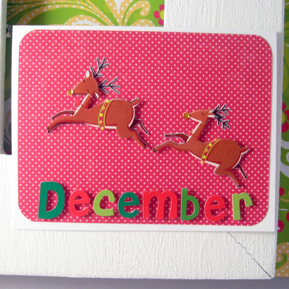 Dasher, Dancer, December Card