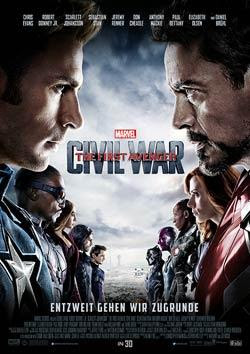 The First Avenger: Civil War Filmplakat