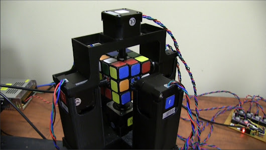 An Arduino Controlled Robot Capable of Solving a Rubik's Cube in Just Over One Second