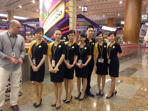 Scoot crew in their uniform