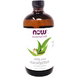 Eucalyptus Oil 100% Pure and Natural By Now Foods - 16 Ounces