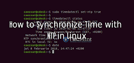 How to Synchronize Time with NTP in Linux