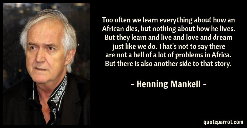 Too Often We Learn Everything About How An African Dies By