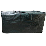 Evelots Big Holiday Tree Storage Bag/Container-66 inch Long-All Around Zipper