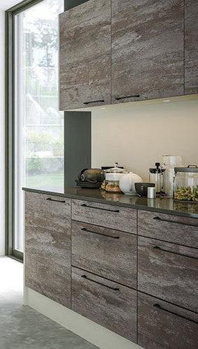 Valore Driftwood Light Grey Kitchen Doors Drawers Just Click Kitchens