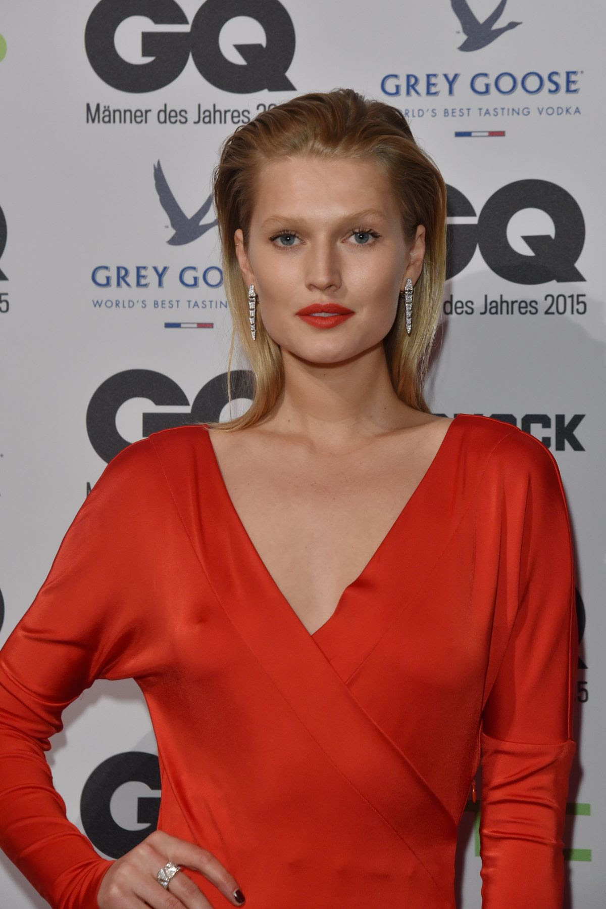 TONI GARRN at GQ Men of the Year Award in Berlin 11/05/2015