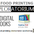 3D Food Printing Workshop @ FabCon 2016 - 3Digital Cooks