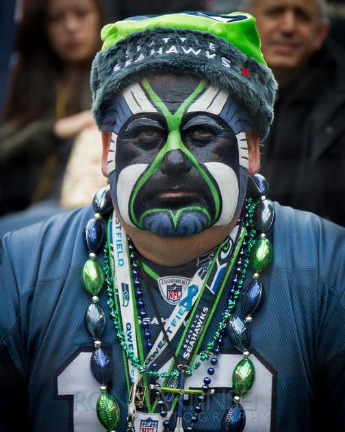 Seahawks Fan - Copyright Ron Martinsen