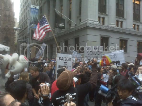 Protest Wall Street