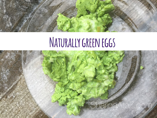 Green eggs naturally